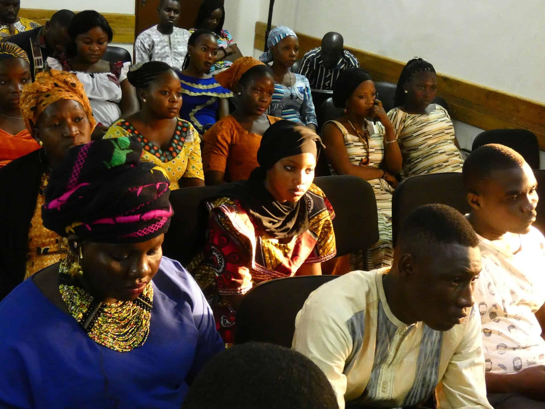 Dogon and Fulani representatives